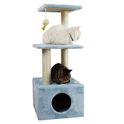 Surface MAX Gran Escala de Gato Manta de sisal Cama para Gatos Linda Plataforma de Salto de Gato Juguete de Gato Muebles de la Torre de Escalada 35 * 35 ...