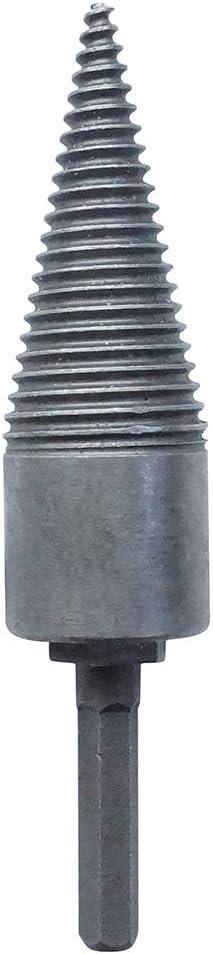 TiTa-Dong Heavy Duty Drill Bit,High Speed Twist Drill Bits Wood Splitter Screw Cones Splitting Bit Fast Splitting Wood Drill