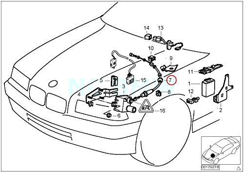 (BMW Genuine Bowden Cable F Cruise Control)