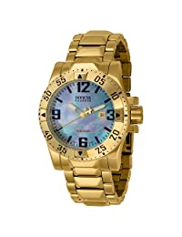 Invicta Men's 6244 Reserve Collection 18k Gold-Plated Stainless Steel Watch