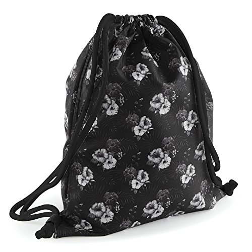 gráfico del Faded Floral BagBase lazo morral BFqHxdnwAn