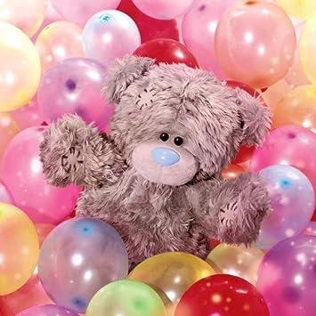 Me To You Tatty de oso con tarta 3D globos Tarjeta de en caja de -