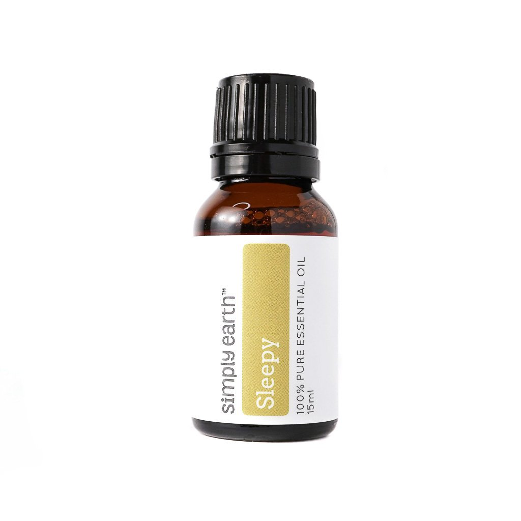 Sleepy Essential Oil Blend - 15ml, 100% Pure Therapeutic Grade by Simply Earth