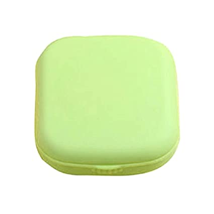 187a01fd0b0 Amazon.com  Plastic Contact Lens Case Travel Glasses Contact Lenses Box Eyewear  Accessories Travel Kit Mirror Container 03  Computers   Accessories