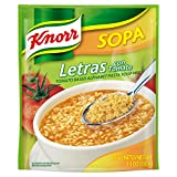 vegetable alphabet pasta - Knorr Sopa Pasta Soup Mix, Alphabet Pasta Tomato 3.5 oz (Pack of 12)
