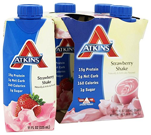 ATKINS SHAKE,RTD,STRAWBERRY, 4/11 FZ