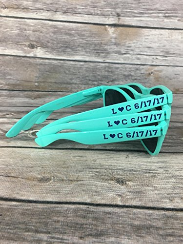 Personalized Mint Sunglasses - Adult - Sunglasses Raf