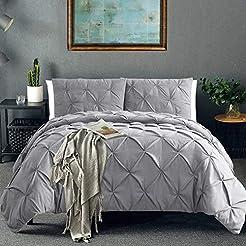 Vailge 3 Pieces Ultra Soft Duvet Cover S...