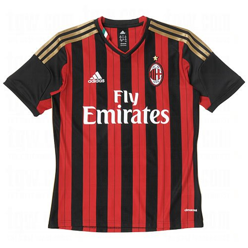 AC Milan Home Jersey Youth 2013-2014 (YXL)