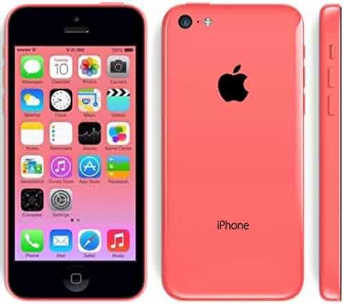 Apple iPhone 5C 16 GB Unlocked, Pink (Certified Refurbished)
