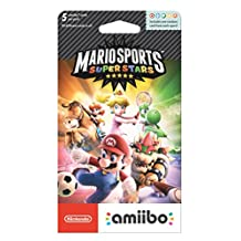 Nintendo Amiibo Cards Mario Sports Superstars, Pack of 5 - Standard Edition