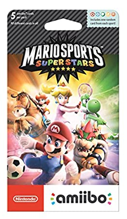 Nintendo Mario Sports Superstars amiibo cards 5-Pack - Nintendo 3DS