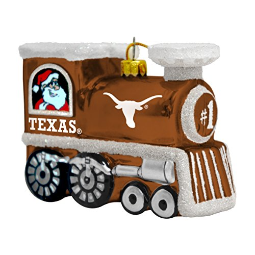 (NCAA Texas Longhorns Train Ornament)