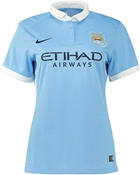 Nike 2015 2016 Man City Home Ladies Shirt Amazon Co Uk Sports Outdoors