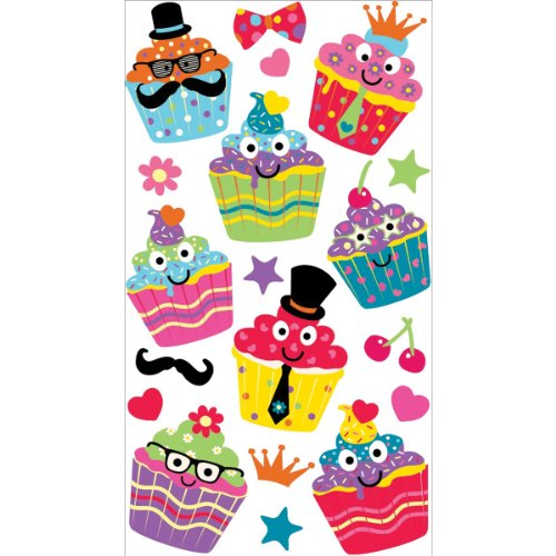 Sticko Scrapbooking Stickers, Dress Up Cupcakes