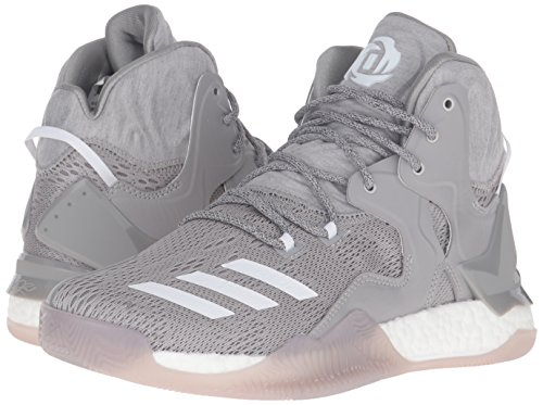 best low top basketball shoes for plantar fasciitis, Medium Heather/White/MGH Solid Grey, 7.5 M US