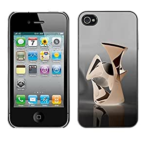 Best-Diy AMAZING-BASE Smartphone Funny Back Image Picture case cover protective Black Edge for Apple Iphone 4 4S - hvnaUWkzCO8 Abstract
