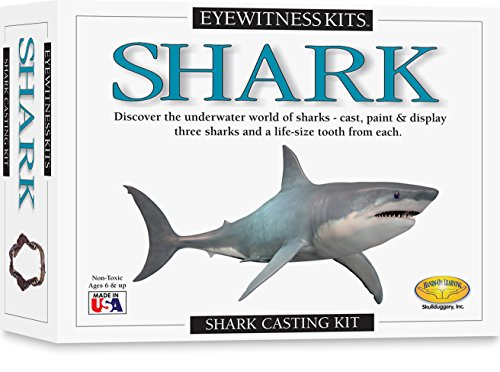 Shark Casting Kit (Eyewitness Kits PerfectCast Sharks Cast, Paint, Display and Learn Craft Kit)