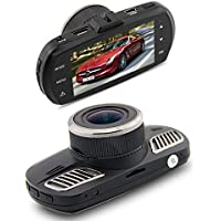MBHB D201 Car Dash Camera, 2.7 FHD 1440p 178 Wide Angle Ambarella A12 Dashboard Camera, Recorder Car Dash Cam with G-Sensor, HDR, Loop Recording, Trajectory Deviation, ADAS, Motion detection, Black