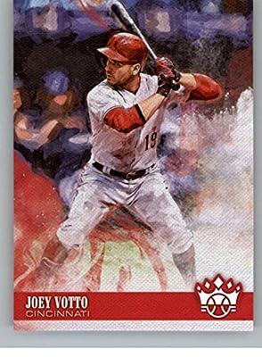 927afa2bd 2018 Panini Diamond Kings #148 Joey Votto SP Cincinnati Reds Baseball Card