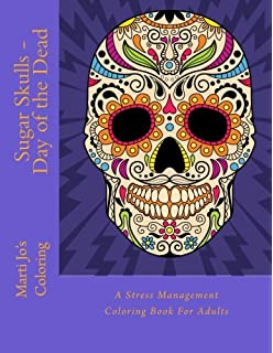 Amazon Day Of The Dead Coloring Book Is Fun Design