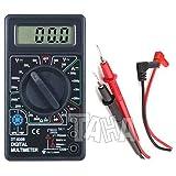 DT830B Multimètre numérique/Testeur de tension LCD