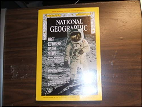 National Geographic December 1969 First Explorers On The Moon