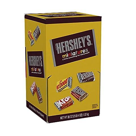 HERSHEY'S Miniatures Assortment, 120 Pieces, 36 Ounce - Fall Assorted Chocolates
