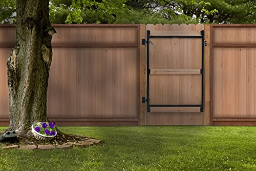 Fence Walk Through Gate Kit Adjust A Gate Steel Frame No