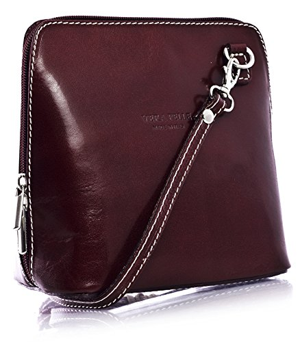 Big Handbag Shop, Borsa a tracolla donna One Plum