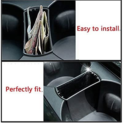 HERBEN Car Storage for Jaguar F-Pace F pace fpace X761 2016 2020 XFL 2020 Car Styling Interior Storage Box Cup Holder Tray Seperator Accessories 1PC: Automotive
