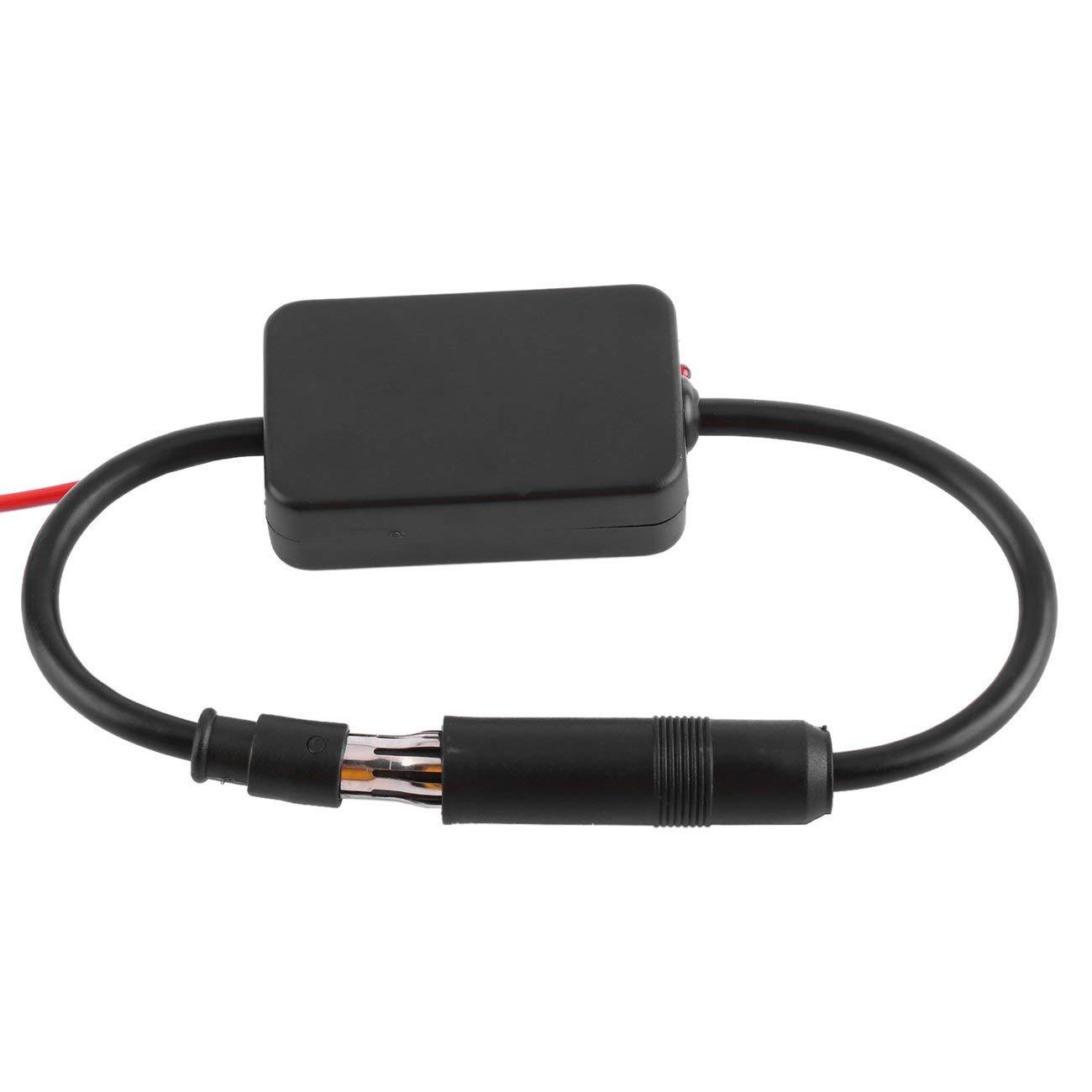 Fannty 12V Autoradio Signalverst/ärker Signalverst/ärker ANT-208 Auto FM Antennenverst/ärker