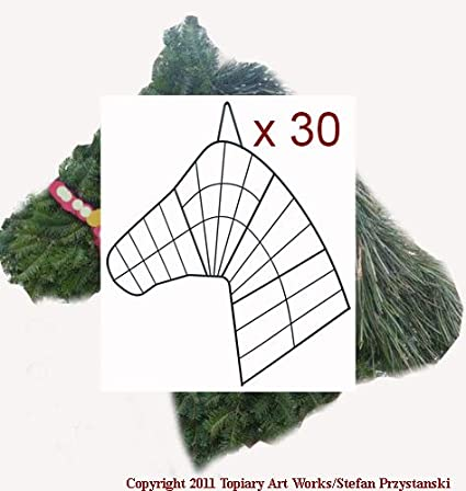 Amazon Com 30 Horse Head Wreath Wire Forms Made In Horse Country