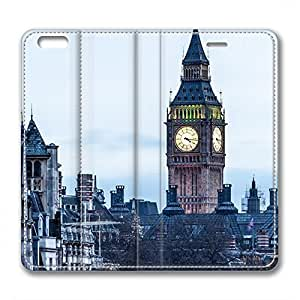 iCustomonline Leather Case for iPhone 6, London Street Ultimate Protection Leather Case for iPhone 6