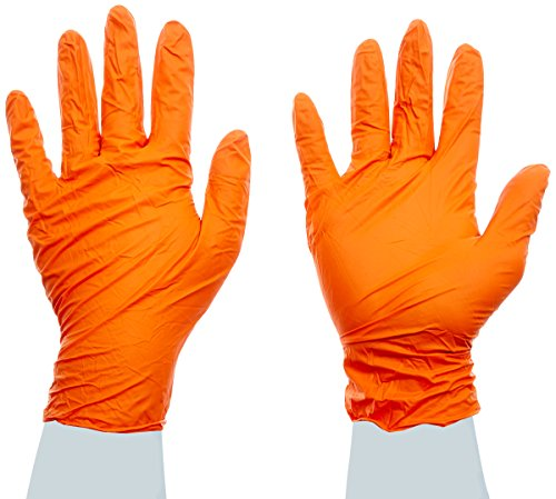 High Five Blaze N484 Series N48 Nitrile Exam Glove, X-Large (Case of 1000) by High Five