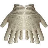 Global Glove S400 Economy Weight String Knit Glove, Work, Womens, Gray (Case of 300)
