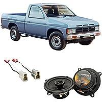 Fits Nissan Hardbody Pickup 1994 Front Door Factory Replacement Harmony HA-R5 Speakers