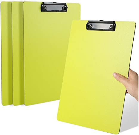 10 Piezas Prueba De Papel Clip-L22.5 * 31.5 * 8cm Color : Black Soporte De Coj/ín De Escritura De Documentos LGQ-SMA Carpeta A4 Proteger Archivo