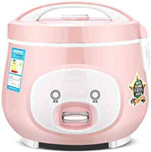 Household rice cooker 3-4 people mini small rice cooker student dormitory ordinary old-fashioned steamed rice (Color : Pink, Size : 5l)