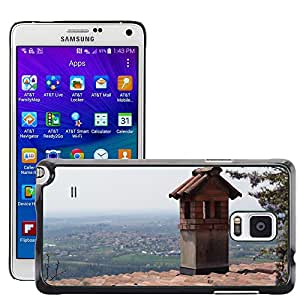 Hot Style Cell Phone PC Hard Case Cover // M00308850 Roof Montevecchia Landscape Lombardy // Samsung Galaxy Note 4 IV