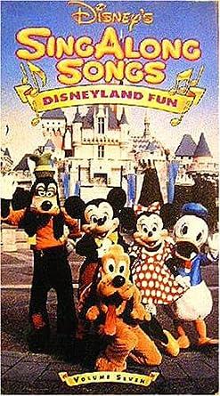 Amazon Com Sing Along Songs Disneyland Fun Volume 7 Walt Disney