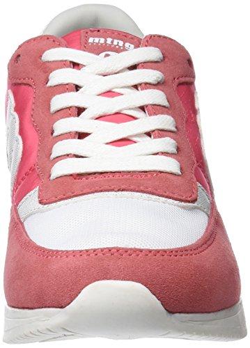 MTNG Damen Maroto Fitnessschuhe Pink (Suede Fucsiarato Blanconilo Fucsia)
