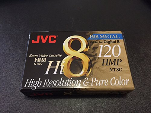 JVC Hi8 P6120HMPJ5 8mm Video Cassette