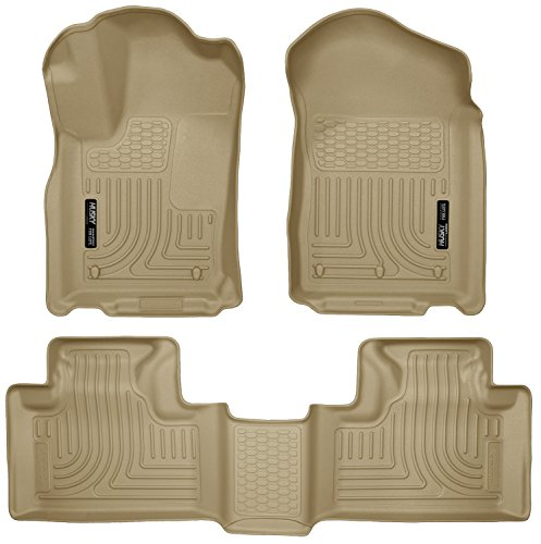 Husky Liners Front & 2nd Seat Floor Liners Fits 11-15 Durango/ Grand ()