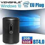 BoLv Vensmile I10 MINI PC Windows 10 Quad Core Bay Trail CR Z3735F CPU 2G/32G Portable Pocket PC with 2.0 MP Camera Computer