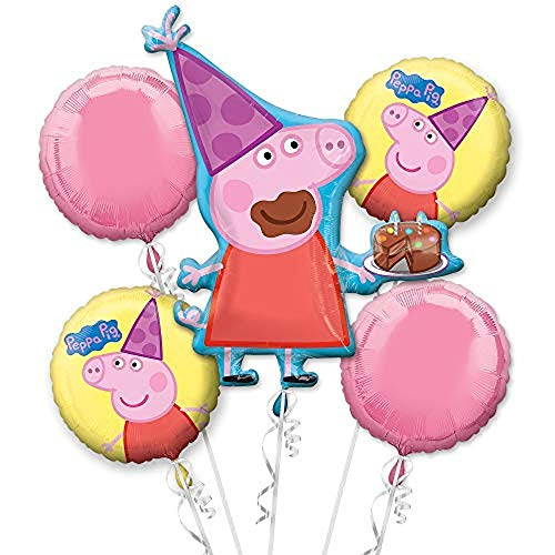 Anagram 31301 Peppa Pig Balloon Bouquet, -