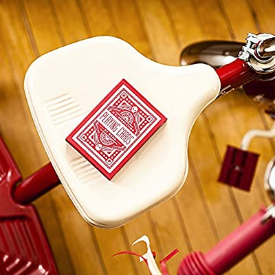 MTS Red Wheel Playing Cards by Art of Play: Toys & Games