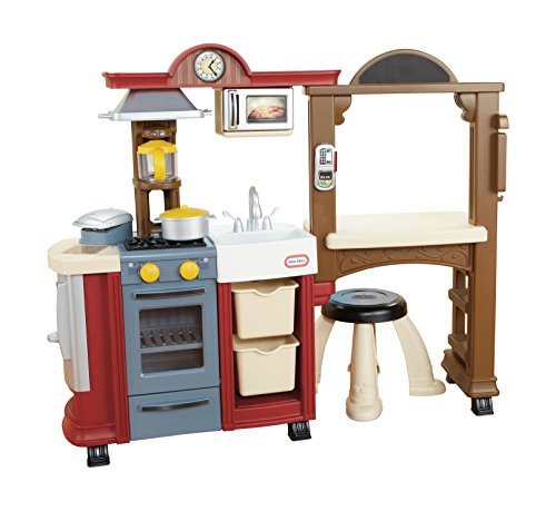 Little Tikes Kitchen & Restaurant-Red  (Amazon Exclusive)