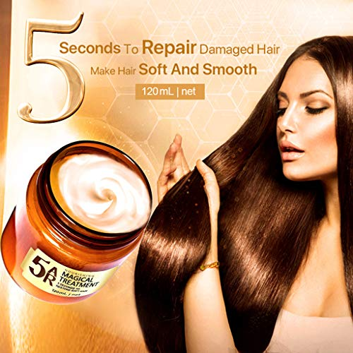 Anyren Advanced Molecular Hair Roots Treatment Hair Mask, Hair Oil Essential Oil, Deep Conditioner Hair Care Repair Set, Smoothing Hair Oil for Frizzy, Dry & Damaged Hair