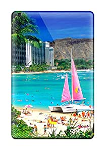 Hard Plastic Ipad Mini Cases Back Covers,hot Hawai Cases At Perfect Customized